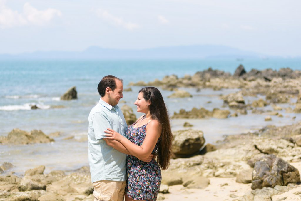 Couple photo in Phuket