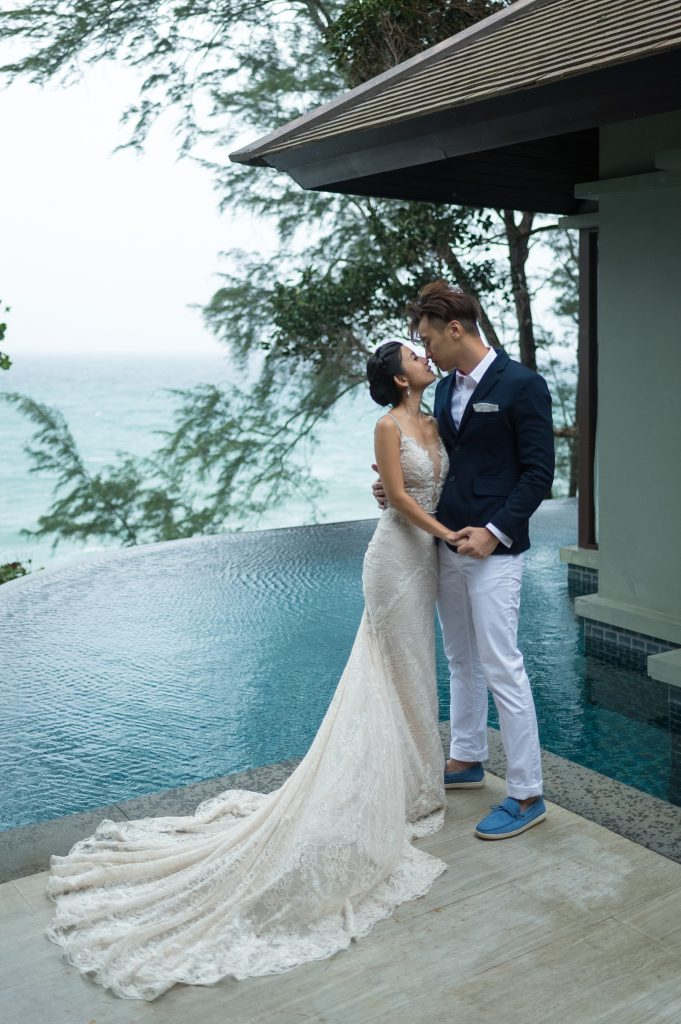 Hong Kong couple honeymoon in Phuket