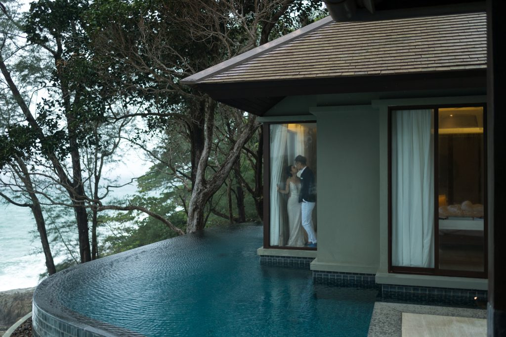 Luxury honeymoon Couple in Phuket