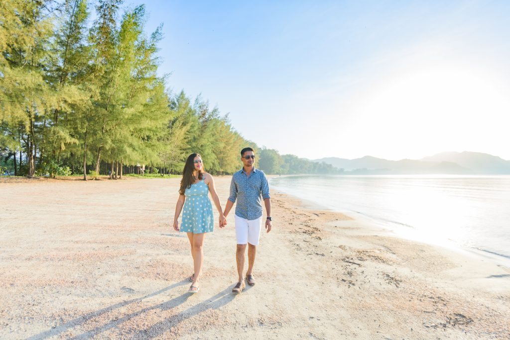Akshita Sarthak Honeymoon At Ao Nang Krabi Thailand