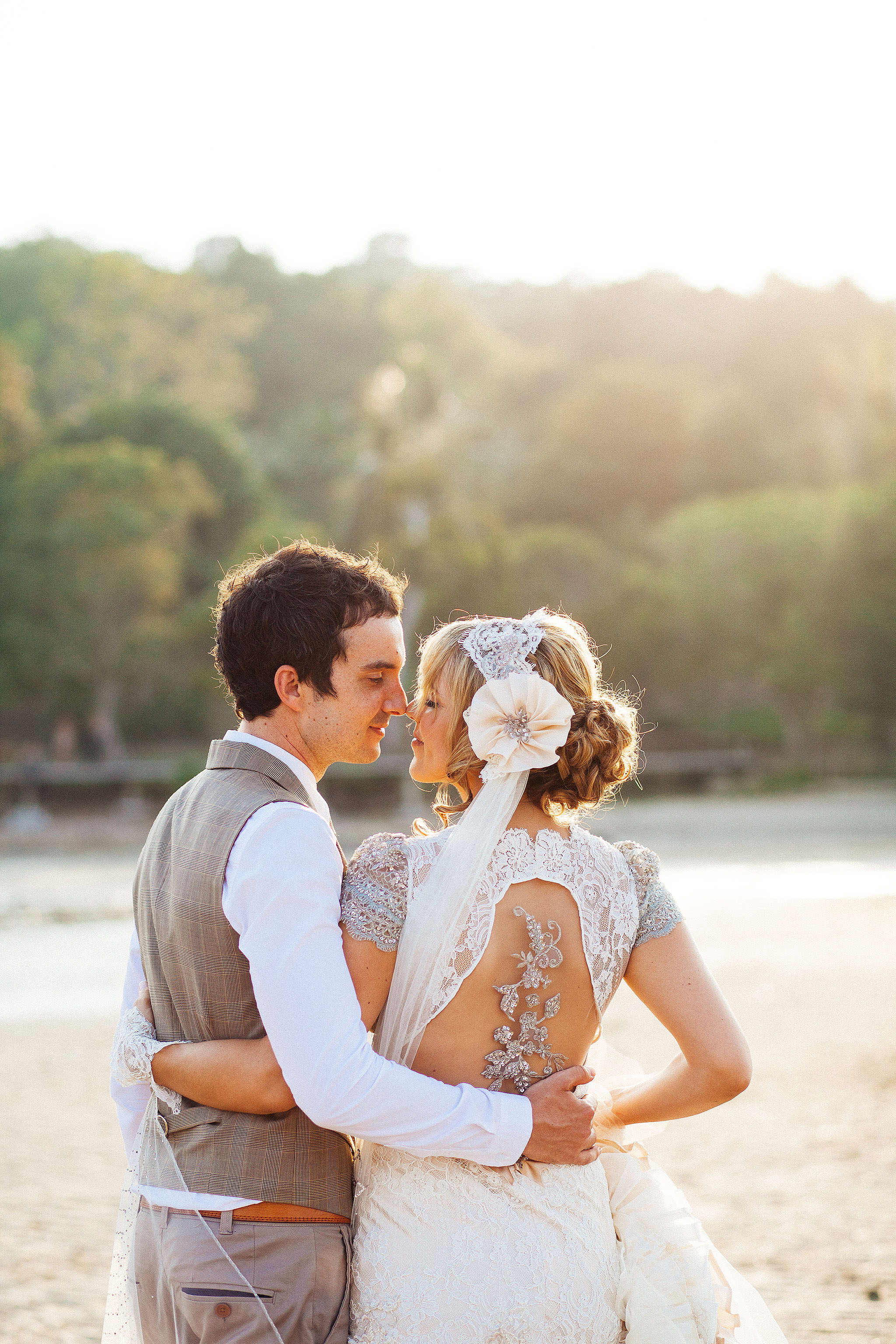 Phuket beach wedding photographer